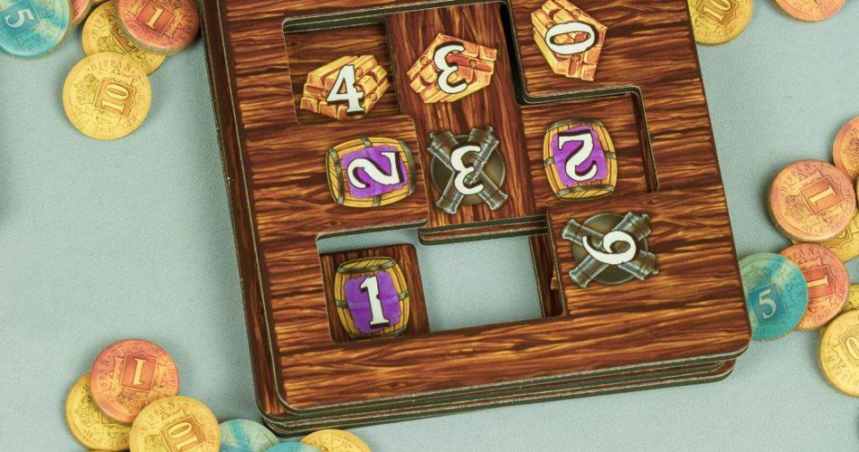 ShipShape Board Game Hold Tiles Stack