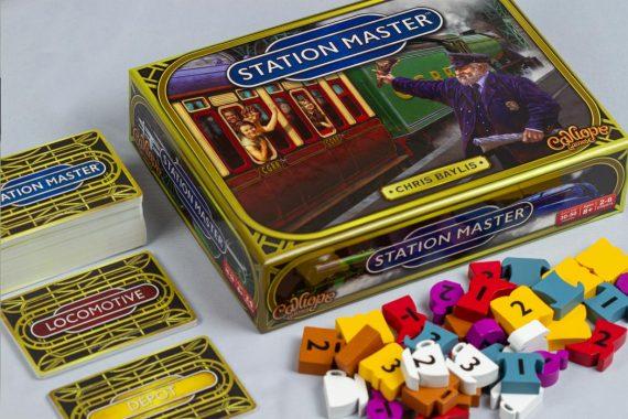 Station Master Board Game Box Art