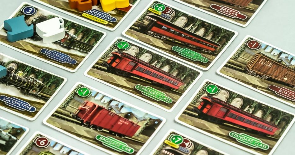 Station Master Board Game Train Yard Cards