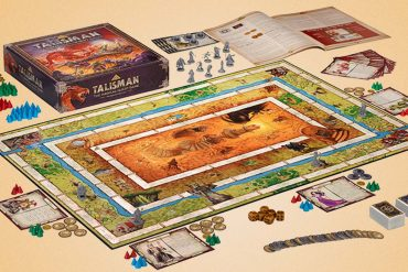 Talisman Board Game Components