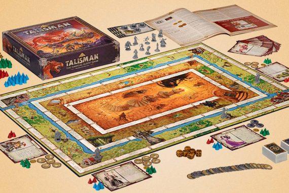 Talisman Board Game Components