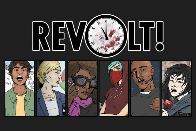 Why You Should Kickstart Revolt Kickstarter