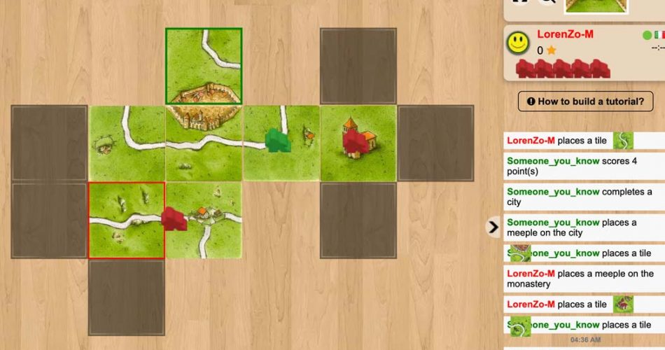 Board Game Atlas Carcassonne Gameplay