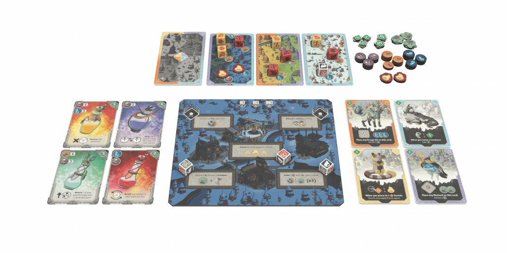 Brew Board Game Components