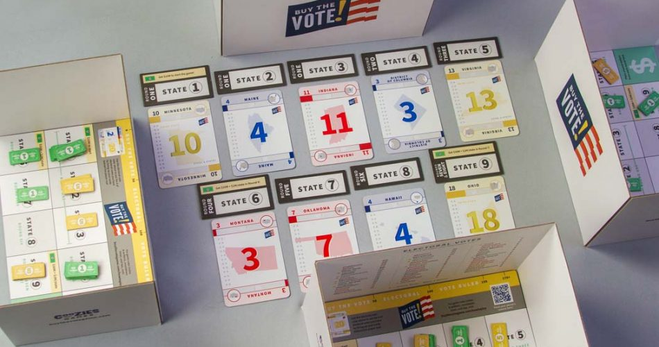 Buy The Vote Board Game Gameplay