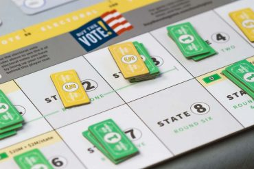 Buy The Vote Board Game Money Bid