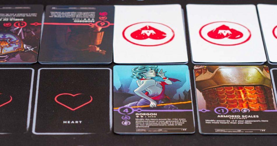 Dinn Trading Card Game Player View
