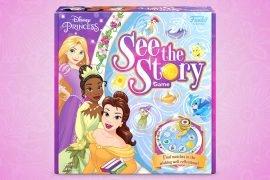 Disney Princess Bingo Board Game See the Story Announced By Funko