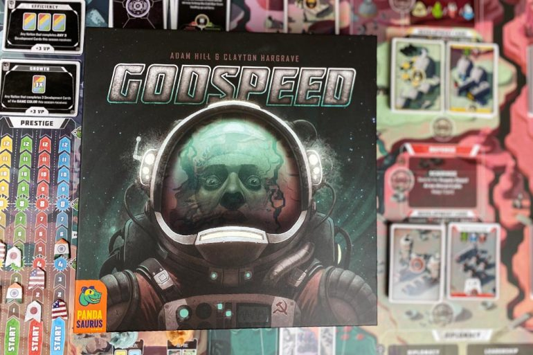 Godspeed Board Game Box Art