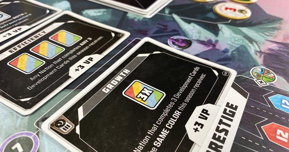 Godspeed Board Game Objectives