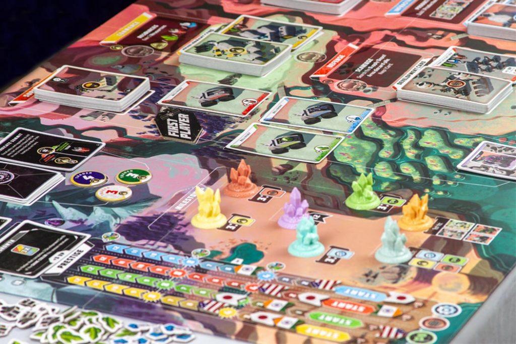 Godspeed Board Game Phase Layout