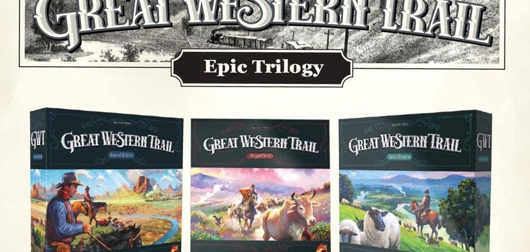 Great Western Trail Trilogy Games