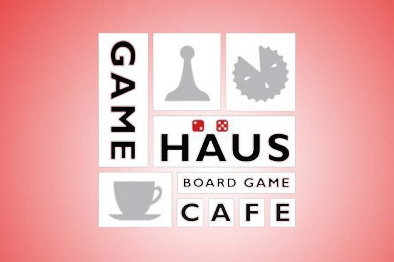 LA Board Game Cafe GameHaus Logo