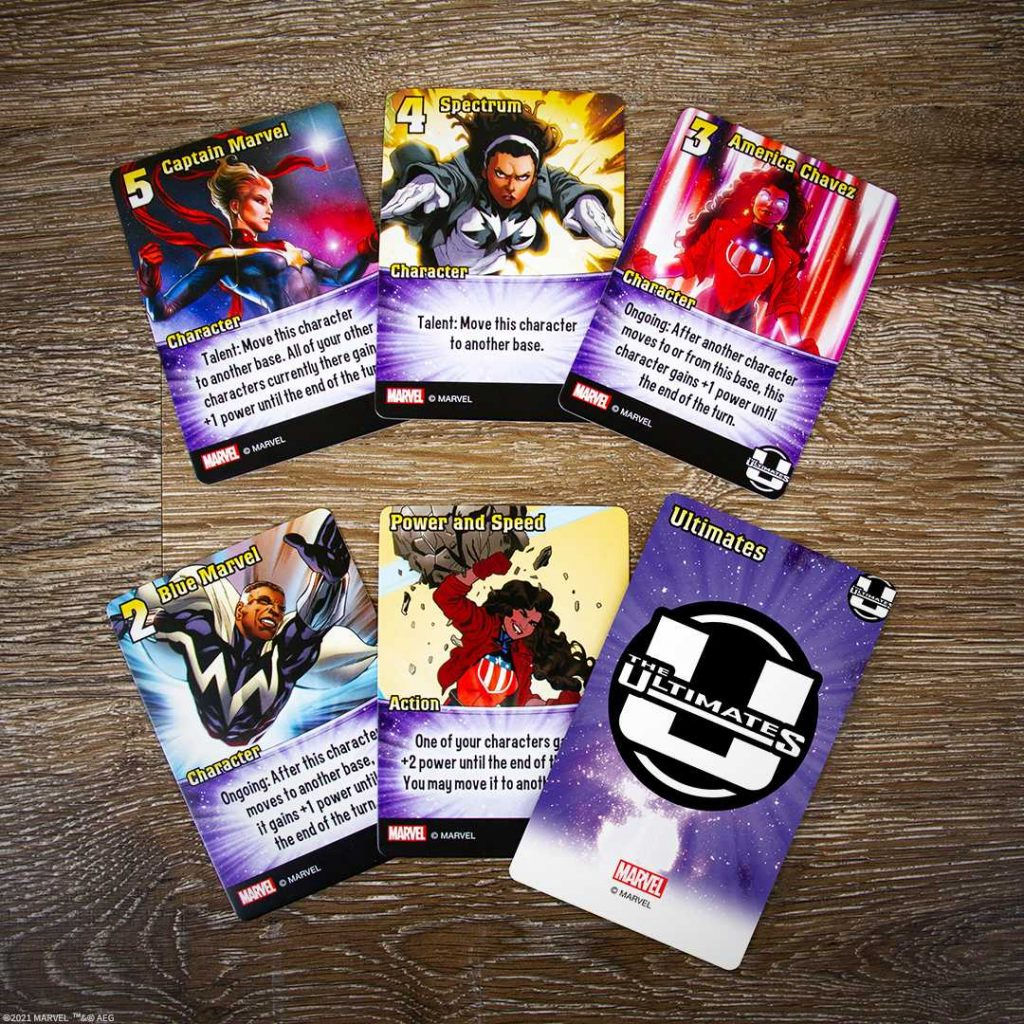 Marvel Smash Up The Ultimates Cards