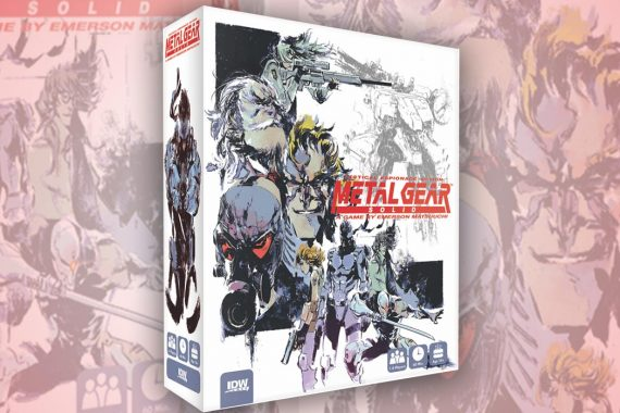 Metal Gear Solid Board Game is Not Moving Forward