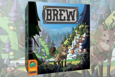 Pandasaurus Head of Graphic Design Creates New Board Game Brew
