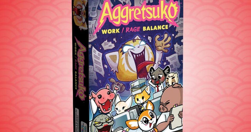 Renegade Announces an Aggretsuko Card Game