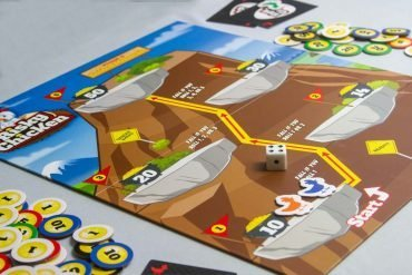 Risky Chicken Board Game Overview