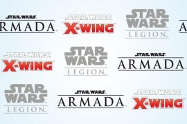 Star Wars Miniatures Game Logos