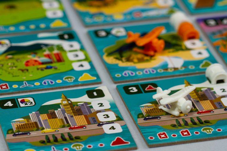Wayfinders Board Game Tile Close Up