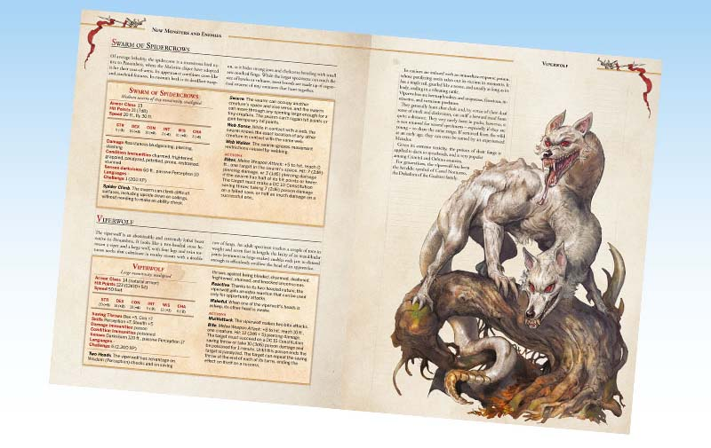 Brancalonia DND Corebook pages