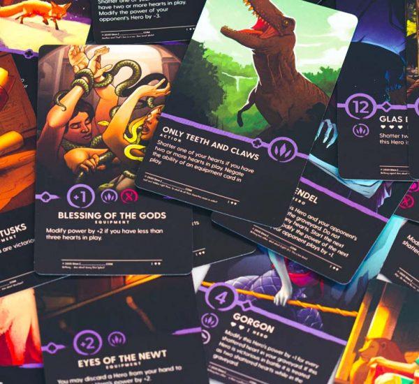 Dinn Trading Card Game Beast Cards
