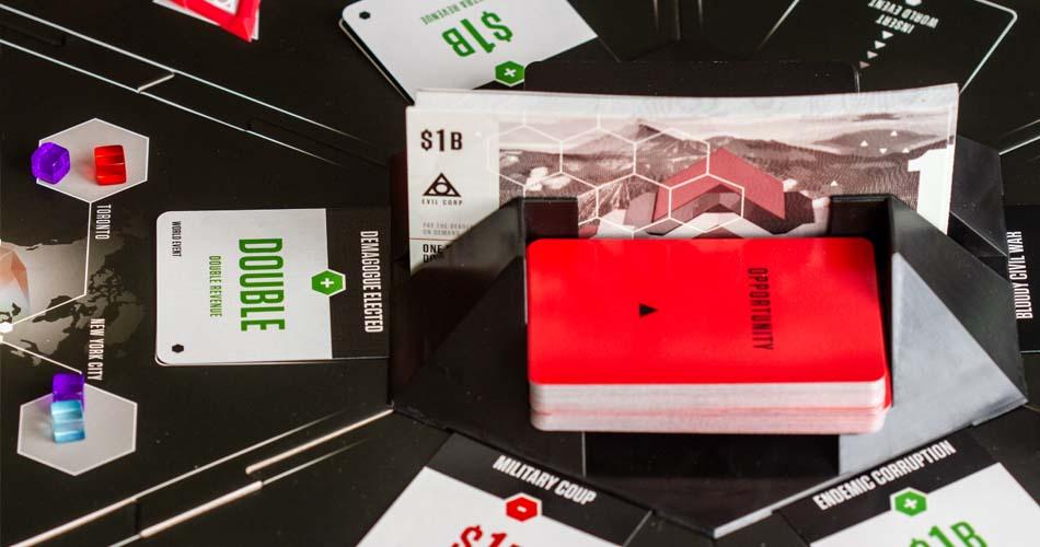 Evil Corp Board Game Billions
