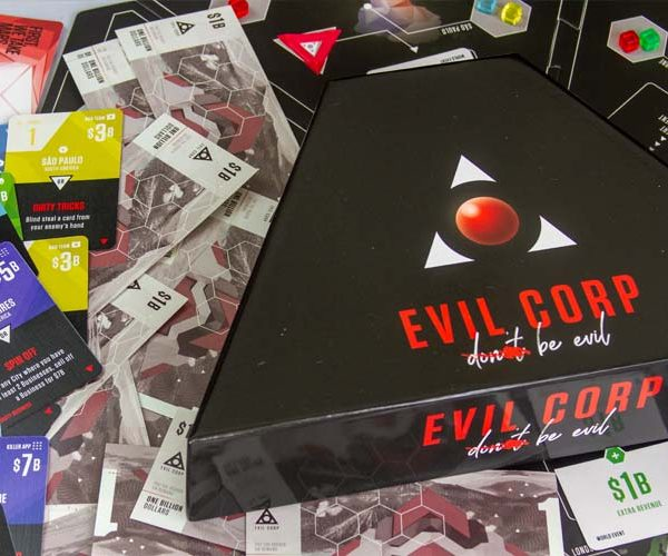 Evil Corp Board Game Box Art