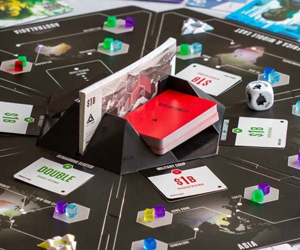 Evil Corp Board Game Player View