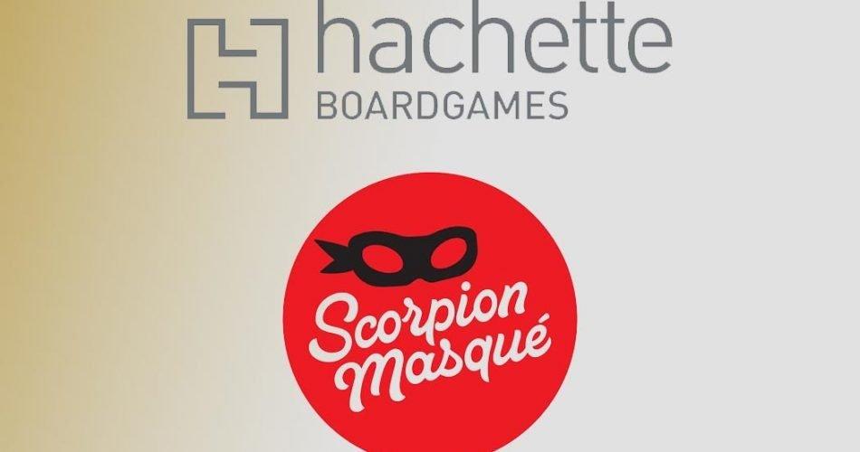 Hachette Board Games Acquires Scorpion Masqué
