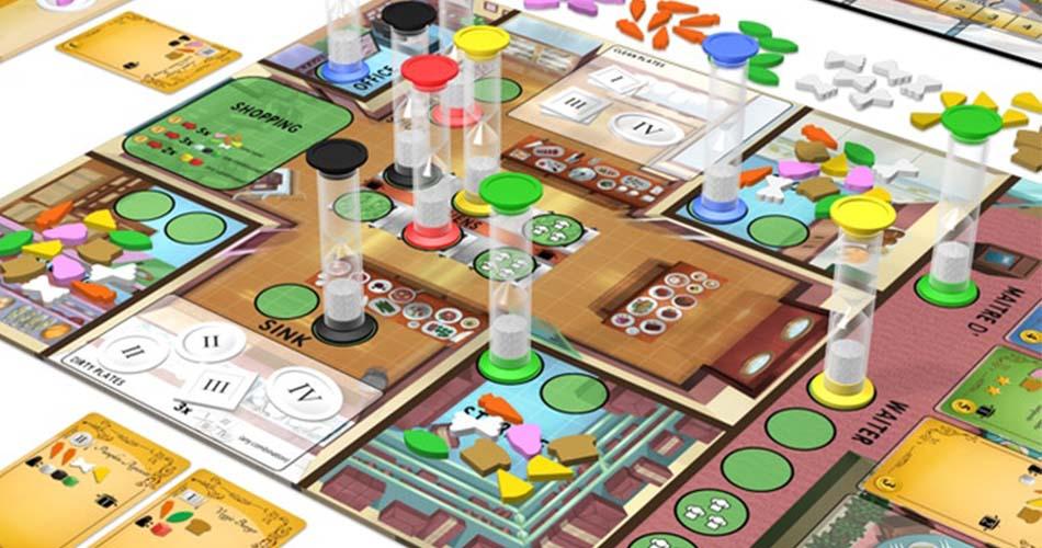 Kitchen Rush Board Game