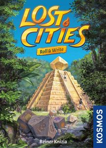 Lost Cities Roll and Write Game Box