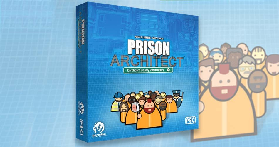 Prison Architect Video Game is Becoming a Board Game