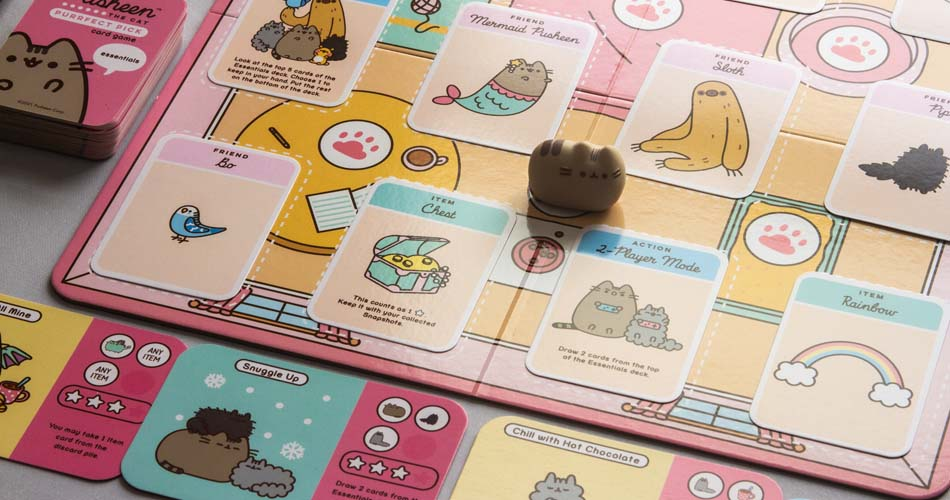 Pusheen The Cat Purrfect Pick Card Game Overview