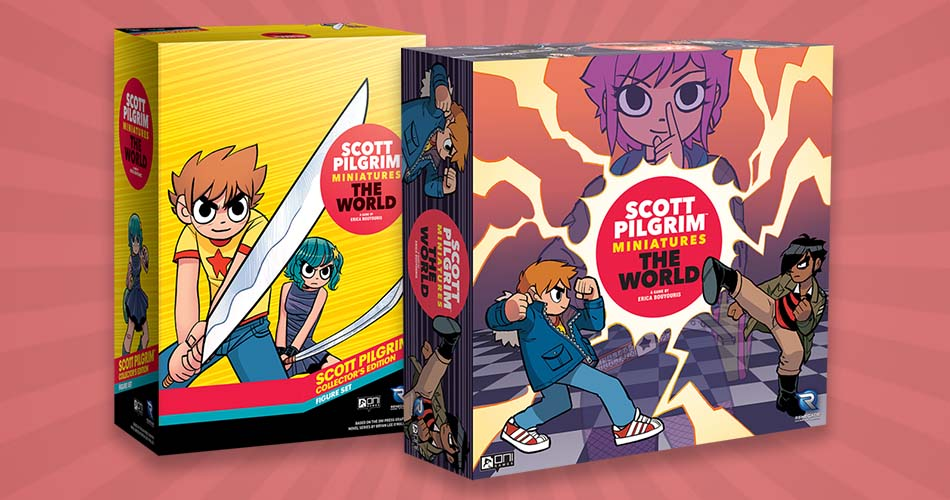 Scott Pilgrim Miniatures Game Release