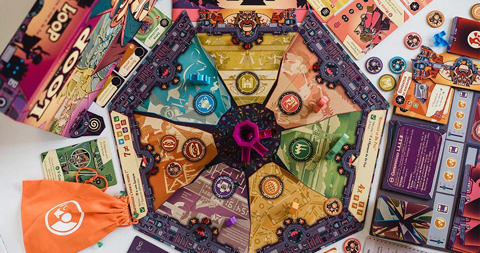 The Loop Board Game Play Overview