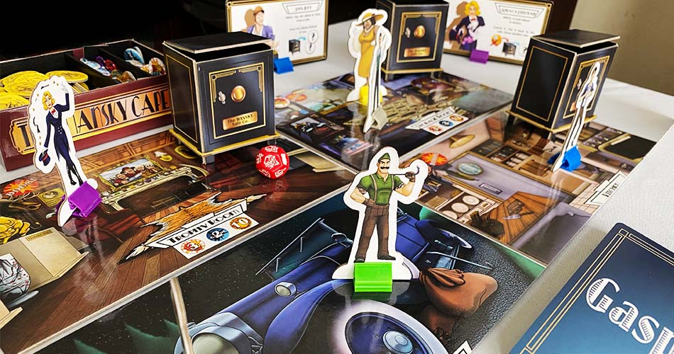 The Mansky Caper Board Game Gameplay
