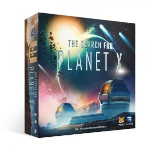 The Search For Planet X Game Box