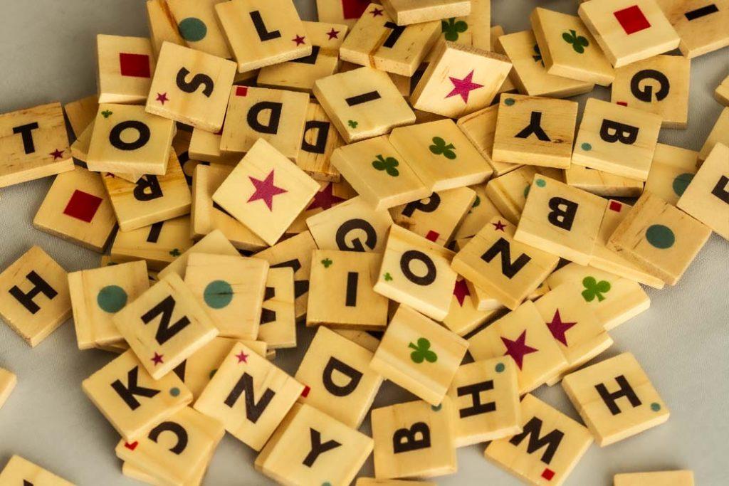 Wordoku Board Game Tiles Variety