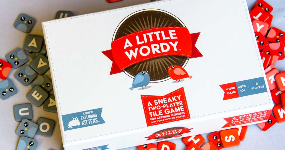 A Little Wordy Board Game Cover Art