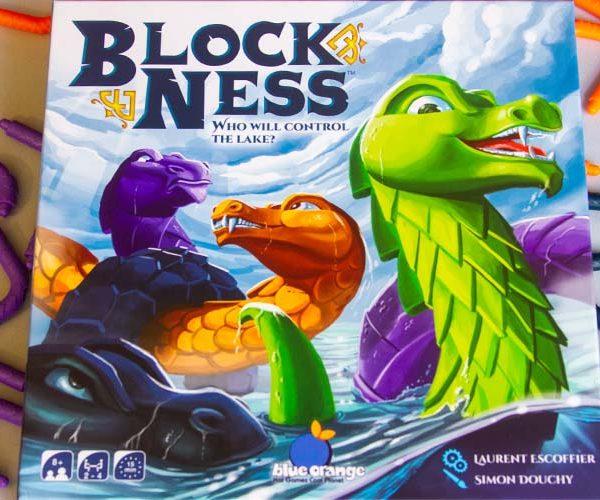 Block Ness Board Game Box Art
