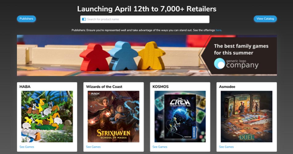 Board Game Atlas Partners with GAMA