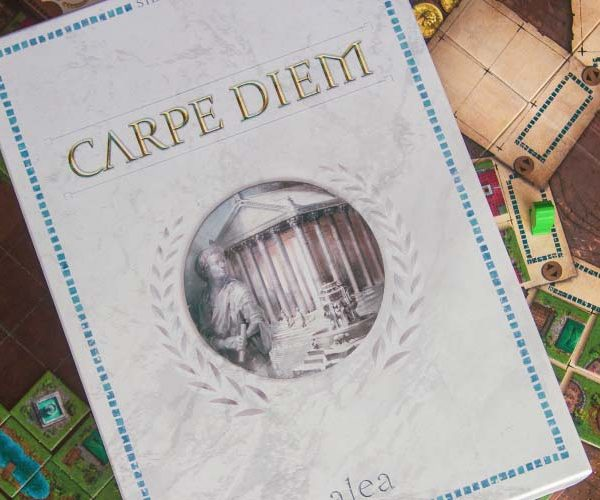 Carpe Diem Board Game Box Art