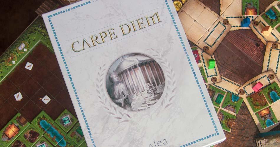 Carpe Diem Board Game Box Art