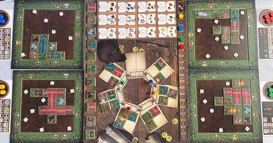 Carpe Diem Board Game Overview