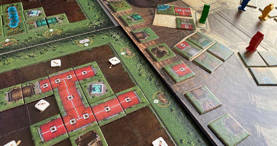 Carpe Diem Board Game Player View