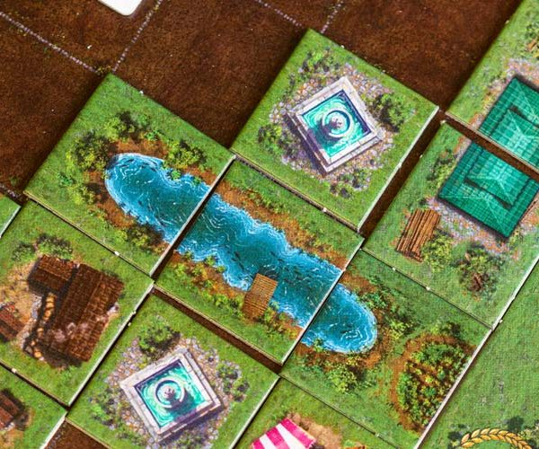 Carpe Diem Board Game Tiles