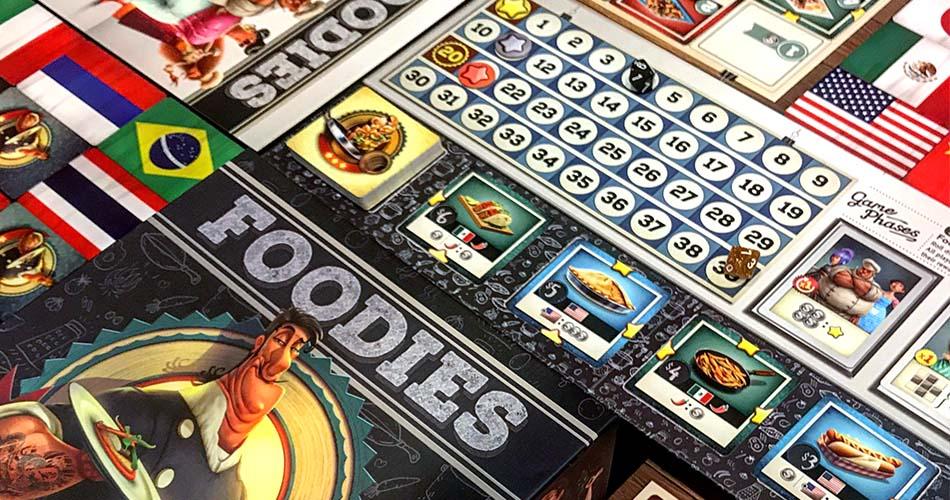 Foodies Board Game