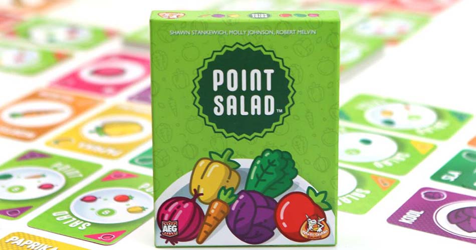 Point Salad Board Game