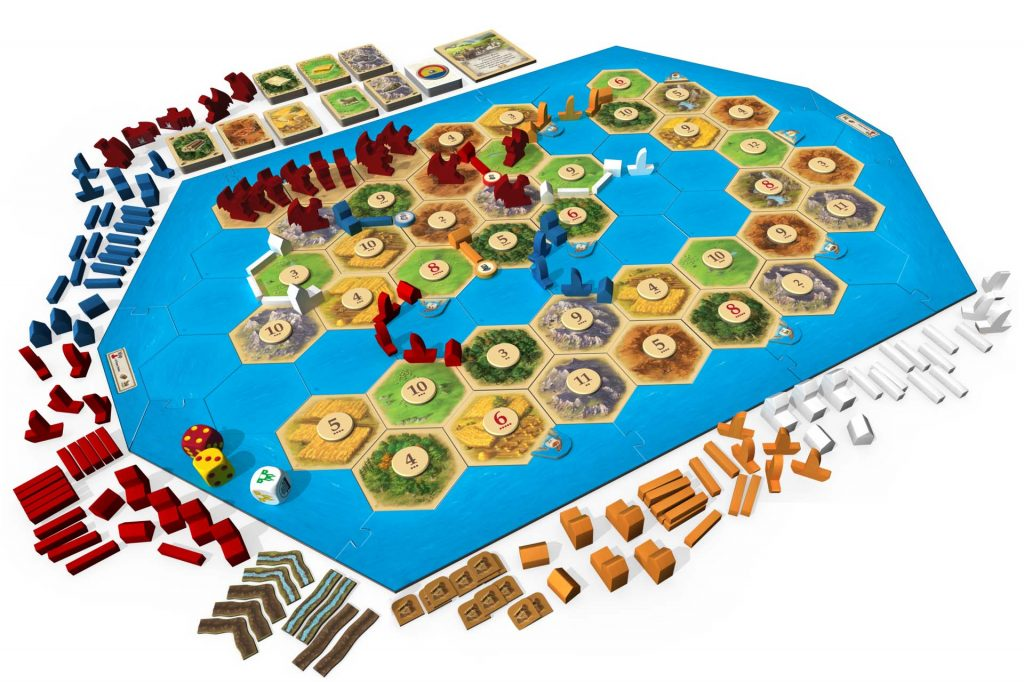 Catan Treasures Dragons and Adventurers Overview